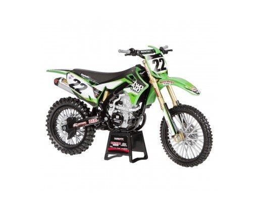 Rotaļlieta motocikls, Kawasaki KX 450F Chad Reed