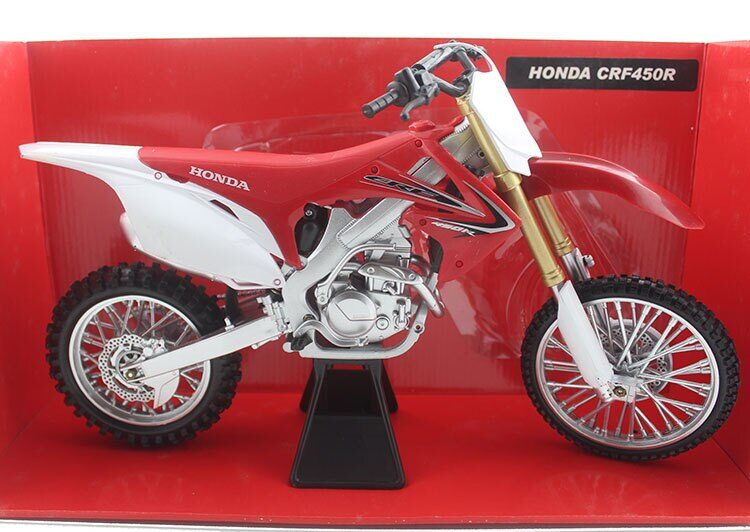 Motocklis - rotaļlieta HONDA CRF450R