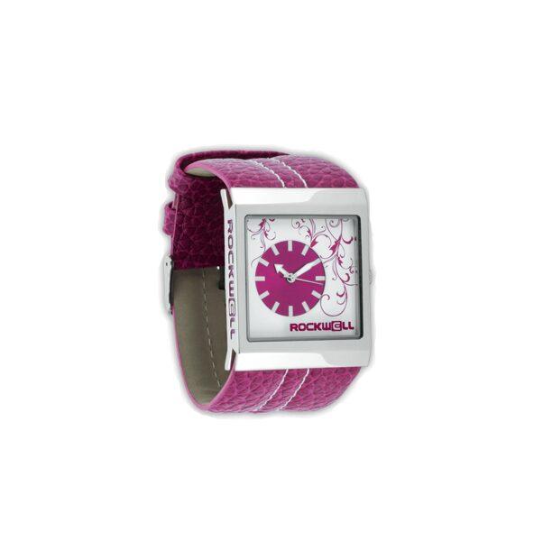 ROCKWELL MERCEDES rokas pulkstenis, ar rozā siksniņu