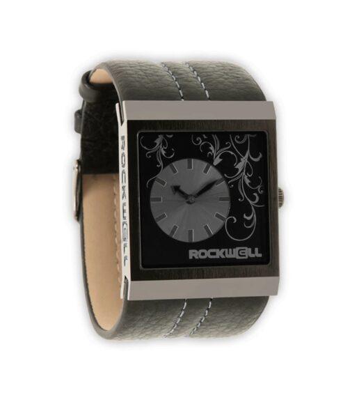 ROCKWELL MERCEDES rokas pulkstenis, ar melnu siksniņu